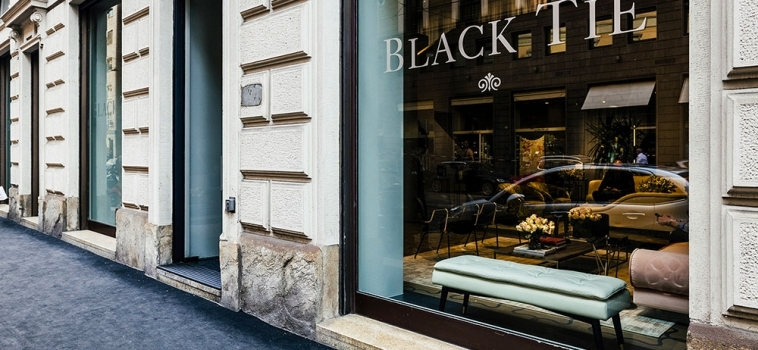 OPENING OF A NEW BLACK TIE SHOWROOM IN MILAN