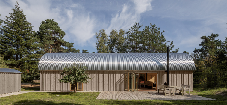 DENMARK: A SUMMER HOUSE SURROUNDED BY NATURE