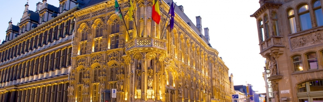 THE TOWN HALL IN GHENT – BELGIUM