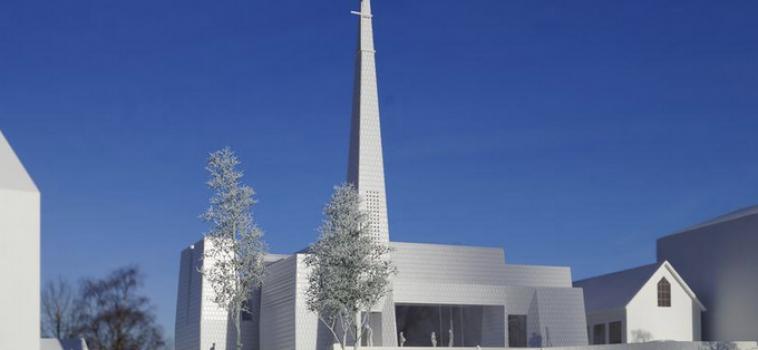 A PORCELAIN CHURCH – NORWAY