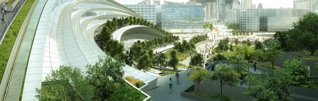 THE NEW HONG KONG RAILWAY STATION
